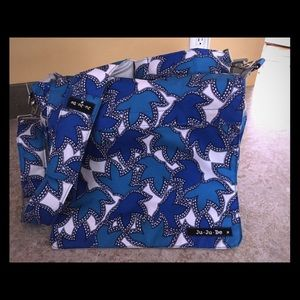 JuJuBe Messenger diaper bag